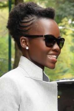 Lupita Nyongo africke pletenice