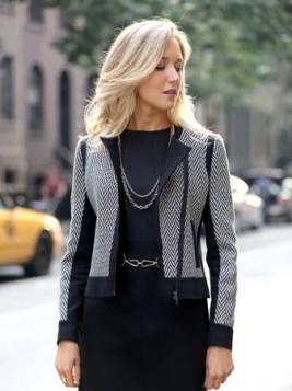klasicna kraca jakna sa printom