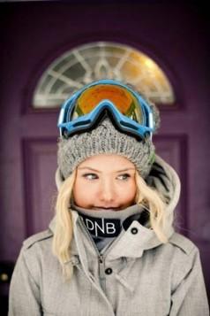 plave ski naocare