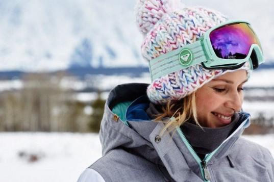 zelene klasicne ski naocare