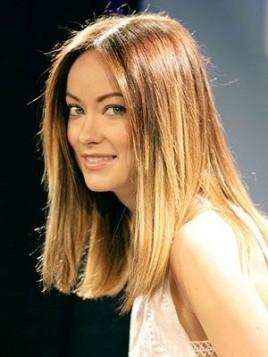 Olivia Wilde lob frizura