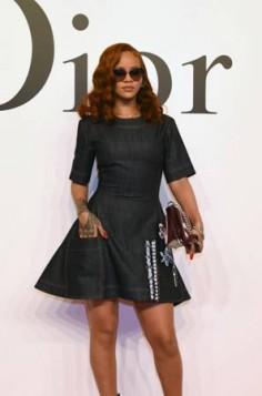 Rihanna ronze
