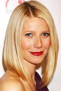 Gwyneth Paltrow lob frizura