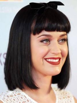 Katy Perry crna sa plavim pramenovima