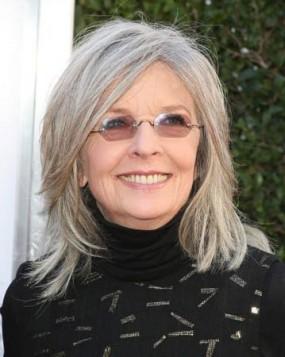 Diane Keaton siva kosa