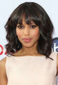 Kerry Washington espresso braon boja