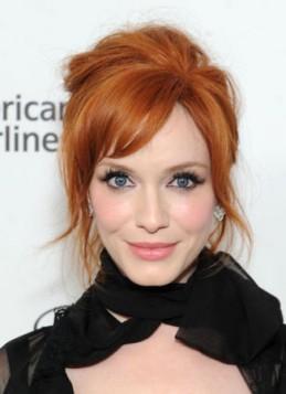 Christina Hendricks bakarno crvena boja kose
