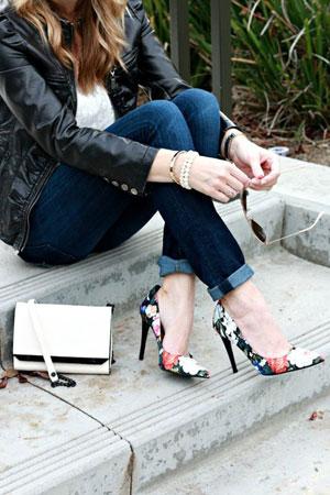 spicaste cipele sa printom