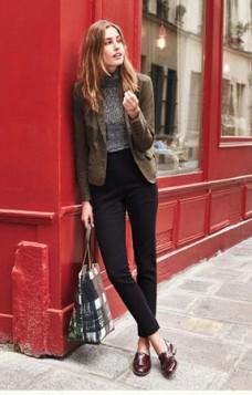 oxford cipele uz elegantne pantalone