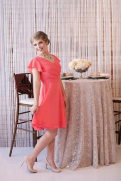 mini haljina sa rukavima