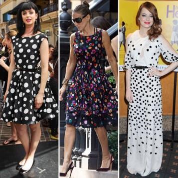 haljina sa raznobojnim tufnama