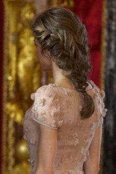 Danska konjski rep pletenica Princess Letizia