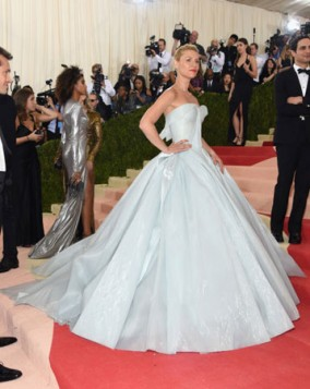 Claire Danes na Met Gala 2016