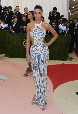Kendall Jenner na Met Gala 2016