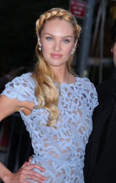 Hajdi pletenica Candice Swanepoel