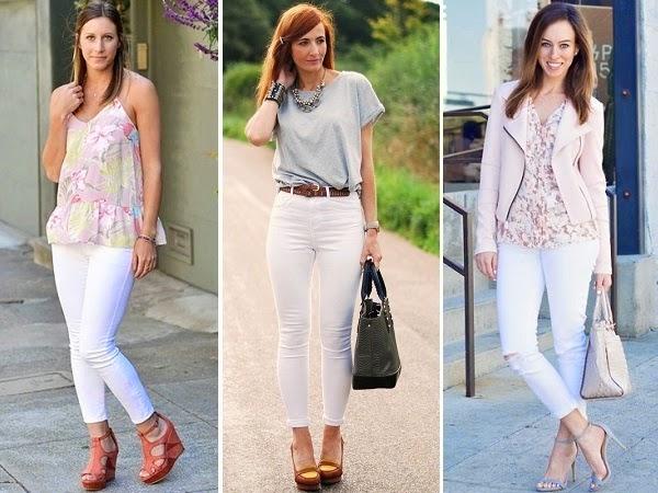 minimalisticki stil sa belim farmerkama