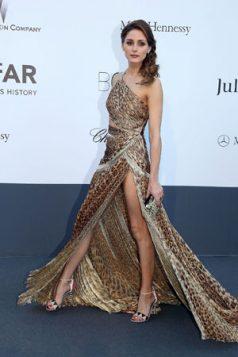 Olivia Palermo haljina sa leopard printom