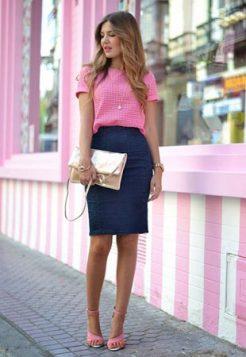 teget olovka suknja