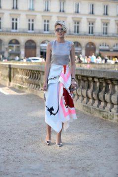 asimetricna duza suknja