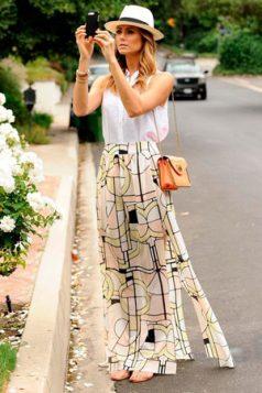trilby sesir i maksi suknja