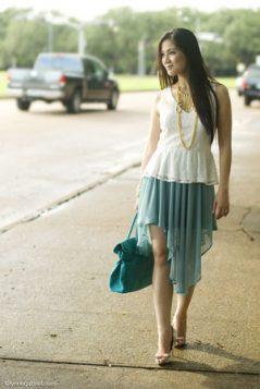asimetricna sira suknja