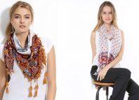 Kreativne letnje kombinacije sa maramama