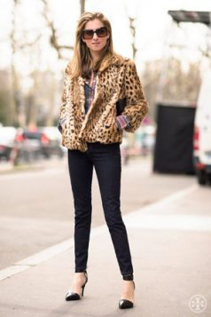 jakna sa leopard printom