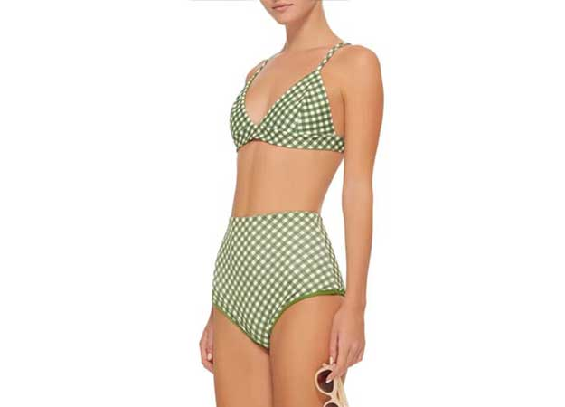 Gingham kupaći kostimi