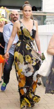 haljina sa cvetnim dezenom