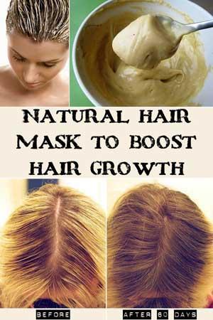 Maska koja podstiče brži rast kose
