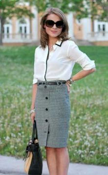 poslovni outfit