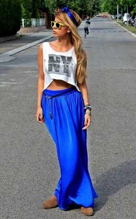 Klasične maksi suknje