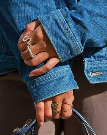 raznovrsno prstenje