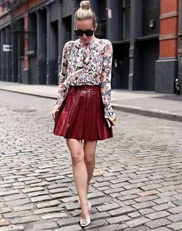 Bluza sa cvetnim printom