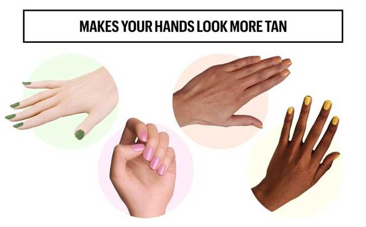Za tamniji izgled ruku