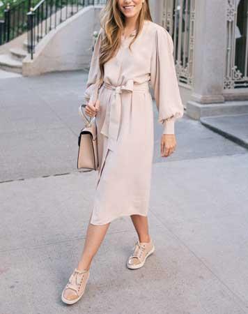 Za visoke dame – Midi haljina
