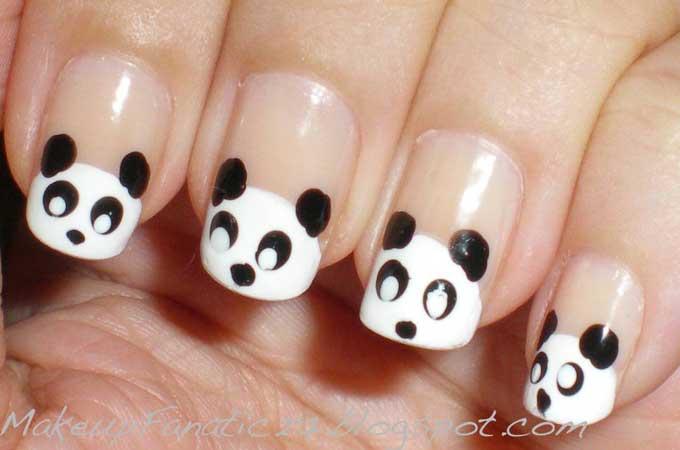 Panda na noktima