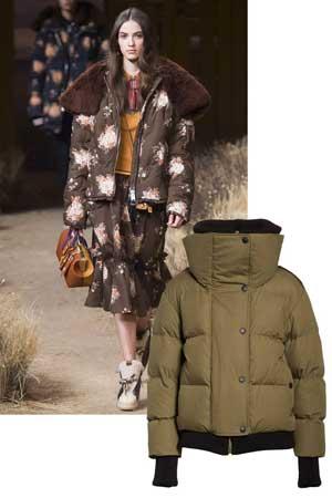Kratka punjena jakna