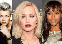 Četiri moderne frizure za dame sa srcolikim oblikom lica