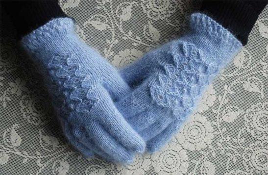 svetlo plave rukavice