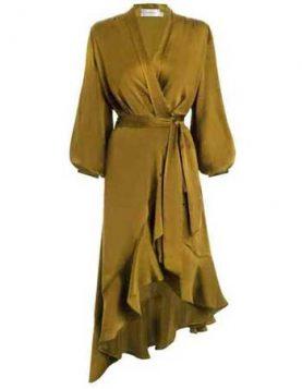 oker haljina sa karnerima
