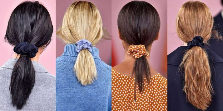 scrunchie trake za kosu