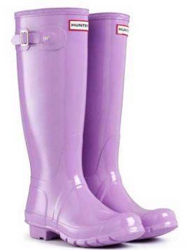 lila gumene cizme