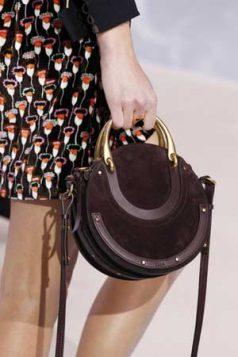 okrugla torba sa metalnom drskom