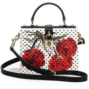 torba sa tufnama i cvetnim printom
