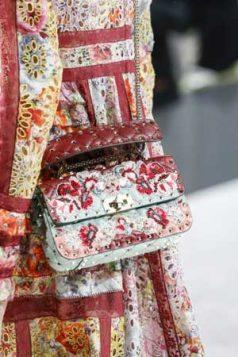 torba sa retro cvetnim printom