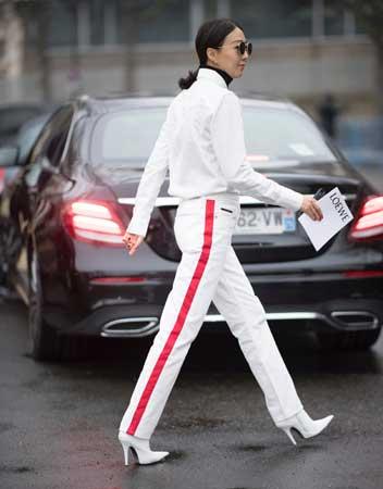 Pantalone sa bočnom trakom