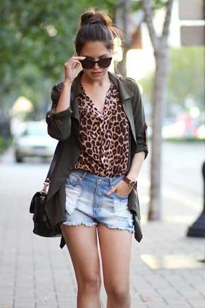 leopard print i teksas