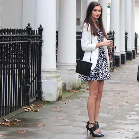 leprsava leopard print haljina