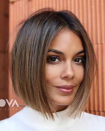 Kratke frizure za 2020 - elegantna asimetricna bob frizura